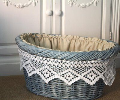 lace basket