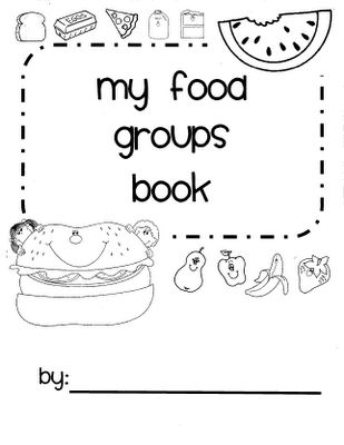 "Tips from a Typical Mom: Food and Nutrition Theme Preschool Songs and Printables- Could do categorizing-- in a ""all about me"" theme"