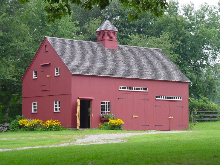 56 best arts images on pinterest folk art tudor and for Traditional barn kits