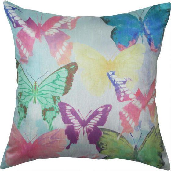 Delish Butterflies Toss Cushion