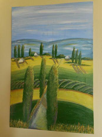 Toscana - in Acryl