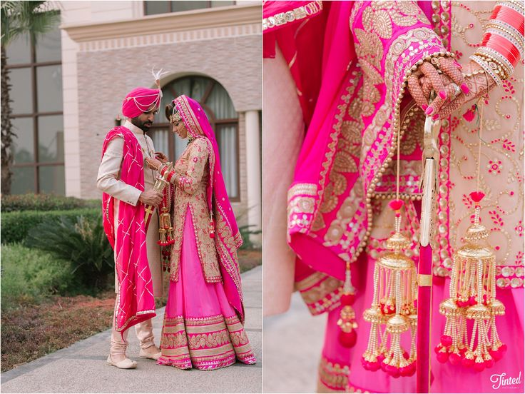 Punjabi wedding - India : Joban and Natasha - Tinted Photography - Wedding Photographer Duo