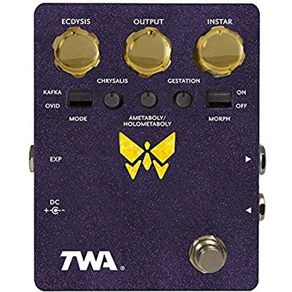 TWA DYNAMORPH Disortion Fuzz Filter Synth Guitar Effects Pedal