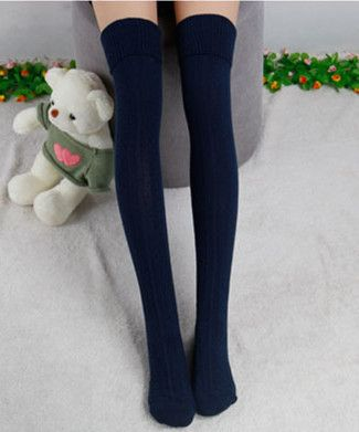 Latest Designs Sexy Thigh High Socks Over The Knee Socks Long Cotton Thigh High Stockings For Girls Top Lady Stocking