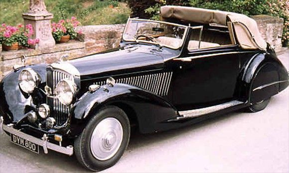 Bentley mark iv james bond drove in from russia with love for Bentley motors limited dream cars
