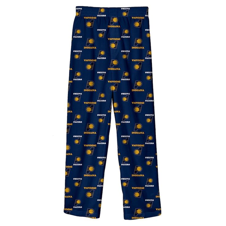 Boys 8-20 Indiana Pacers Team Lounge Pants, Size: XL 18-20, Blue (Navy)