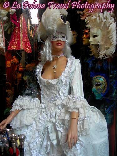 Manichino Venezia negozio fotografia signora del di LaPolena
