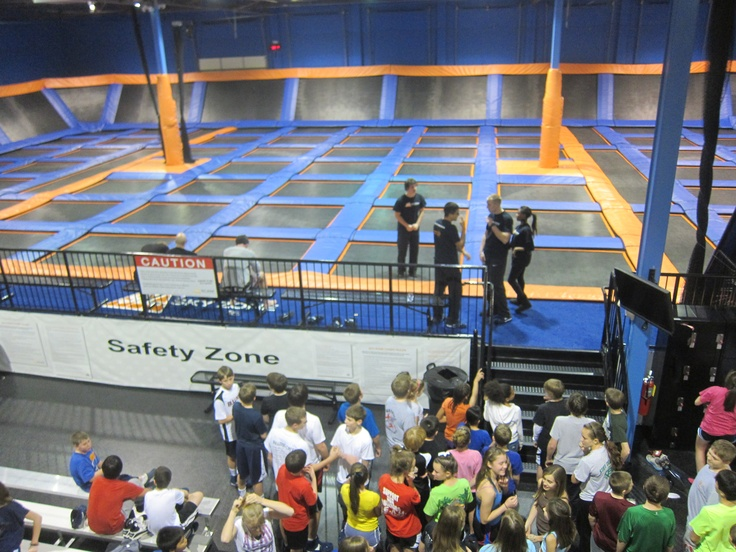 SkyZone is an Indoor Trampoline Park in Suwanee Ga., just north of Atlanta. They have special nights for tweens and teens.