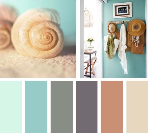 Color arena del mar