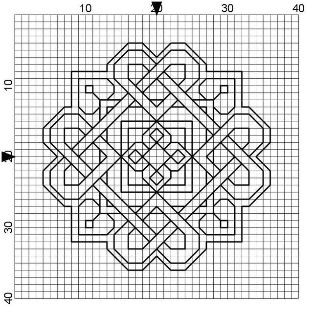 Best 25+ Blackwork cross stitch ideas on Pinterest Cross stitch - cross stitch graph paper