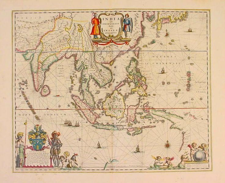 Ancient map of Atlantis