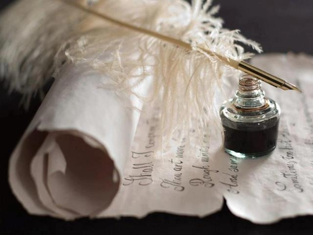 130 best images about Ink pots & quills on Pinterest Quill And Ink Pot Image