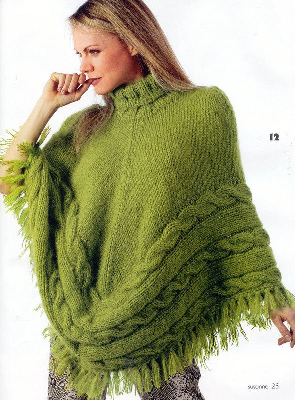 Poncho pattern/instructions. I would rather make this as a skirt!