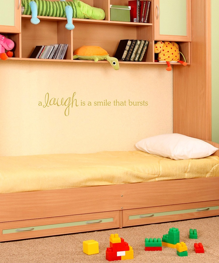 Great quote for a playroom!
