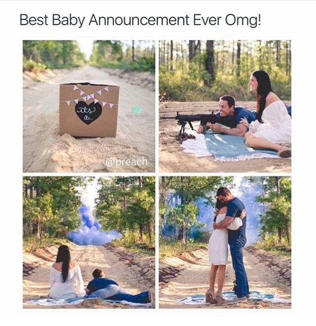 Exploding adorable announcement (pc: Instagram)