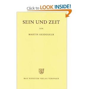 Sein und Zeit - Martin Heidegger