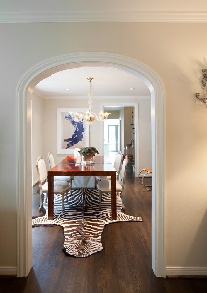 Zebra Rug Plus Arched Doorway