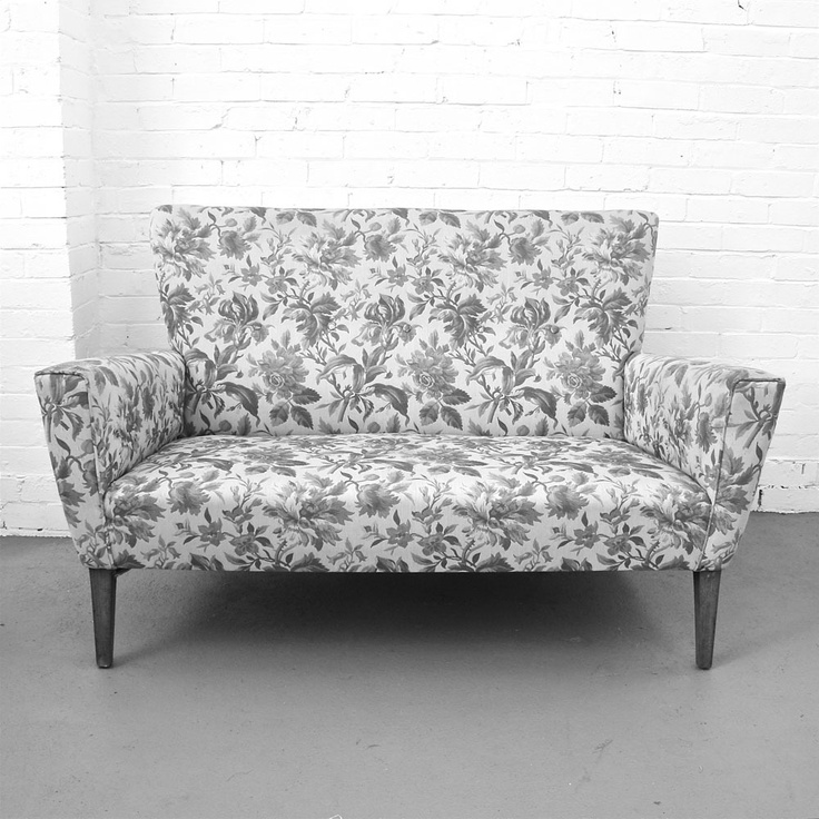 Good No Cushions, But The Shape And The Fabric Are Wonderful! Vintage SofaThe ...