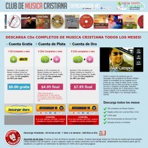 Descargas De Musica Cristiana Gratis Y Legal. Miles De Busquedas Por Dia En Internet. Gran Oportunidad. Gana El 50% De Comisiones Por Ventas Que Generes! Afiliados: Http://devociontotal.net/clubdemusica/index-afiliados.html See more! : http://get-now.natantoday.com/lp.php?target=andrusito