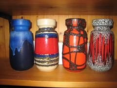 Scheurich Fat Lava vases...1200 pieces to choose from