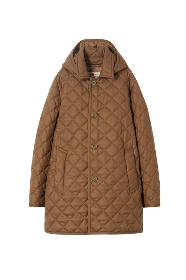 DERBY HOOD QUILTED | COLLECTION | Traditional Weatherwear | トラディショナル ウェザーウェア