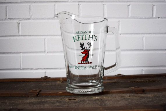 Alexander Keith's India Pale Ale Pitcher Solid by MurMursPlace