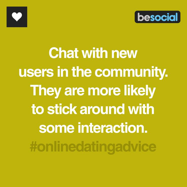 Tips for online dating chat