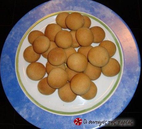 Νηστίσιμα κουλουράκια με μήλο