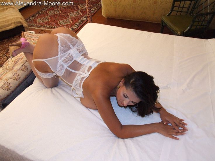 Beautiful girl in stockings masturbates for your pleasure 3