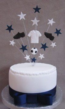 Tottenham Spurs Football Birthday Cake Topper Suitable For A 20cm Cake: Amazon.co.uk: Kitchen & Home