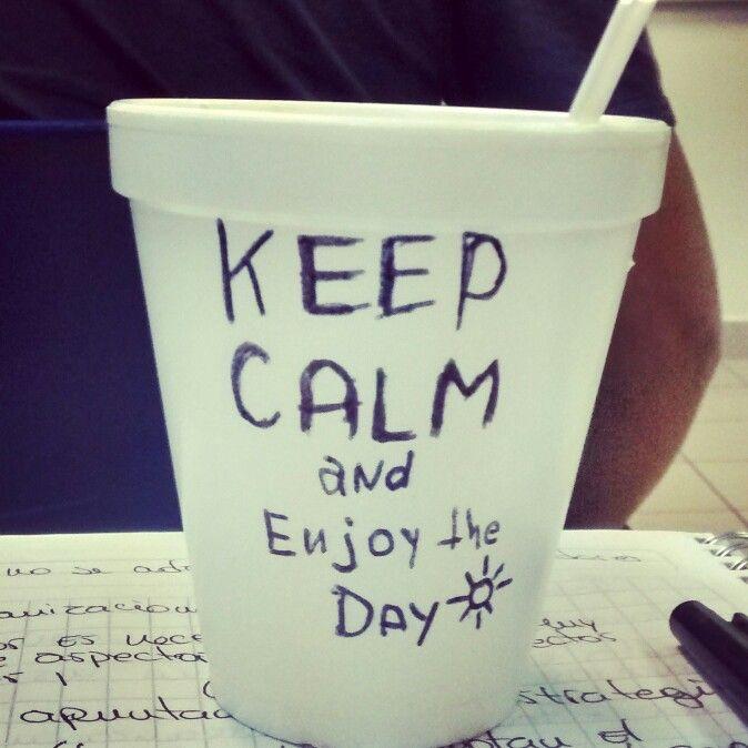 #KeepCalm #And #EnjoyTheDay {ocio en clase}