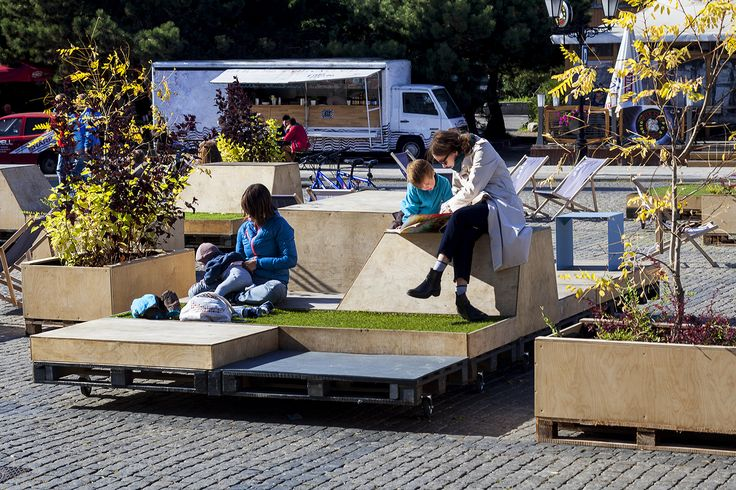 TARG WĘGLOWY 2014 / Mobile modules of urban furniture / fot. szajewski.com