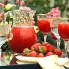 Virgin Strawberry Daiquiri Recipe - 3 1/2 ounces frozen strawberries, 1/8 cup ice, 1/2 fluid ounce sweet and sour mix, 1 dash grenadine syrup. : place strawberries, ice cubes, sweet and sour mix and grenadine in a blender. blend until smooth. (opt: add more ice) enjoy!