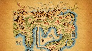 If Pokemon Regions Had Lord of the Rings-Style Maps
