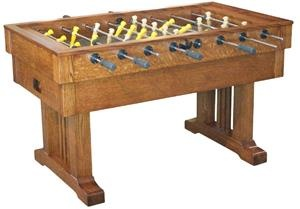 Amish Handcrafted Signature Mission Foosball Table