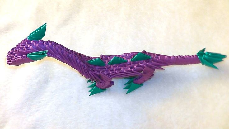3D origami dragon (dinosaur) tutorial http://3d_origami.bringingsuccess.ru In this video we learn how to make dragon (dinosaur) out of paper. Also this drago...