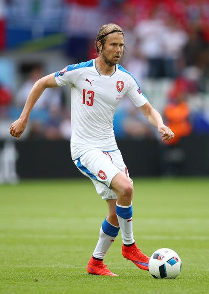 Jaroslav Plasil of Czech Republic in action during the UEFA EURO 2016 Group D match between Czech Republic and Croatia at Stade Geoffroy-Guichard on June 17, 2016 in Saint-Etienne, France.