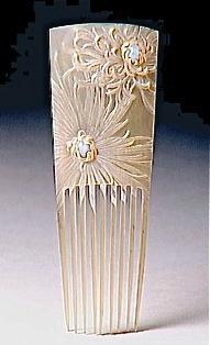 Lucien Gallard hair comb circa 1904