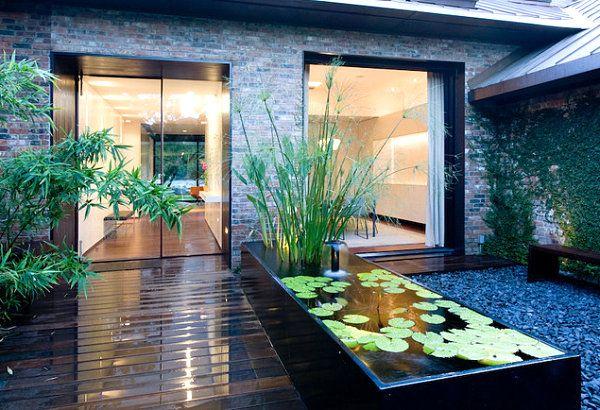 Relaxing Garden Ponds Design With Stone Charming Raised Pond In Modern Garden Stunning Garden