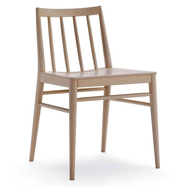 Silla n rdica de madera para cafeter as sillas para for Sillas madera cafeteria