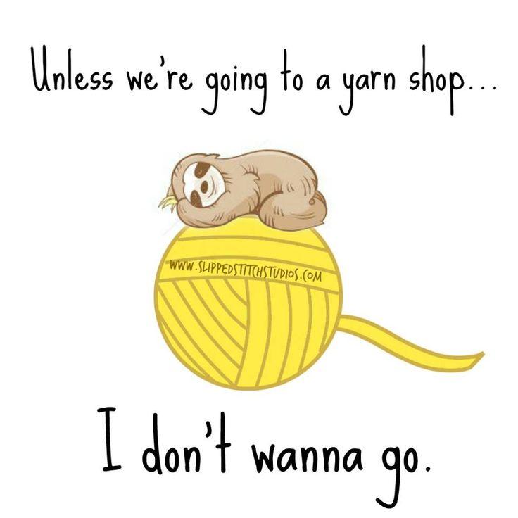Yarn shop? Aka joanns