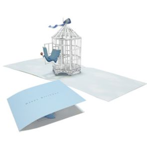 TUTORIAL (pattern & instructions) ...  POP-UP BIRDCAGE CARD. Also, here is a version of this card (pic): http://extremecards.blogspot.com/2010/02/bird-cage-pop-up-birthday-card.html