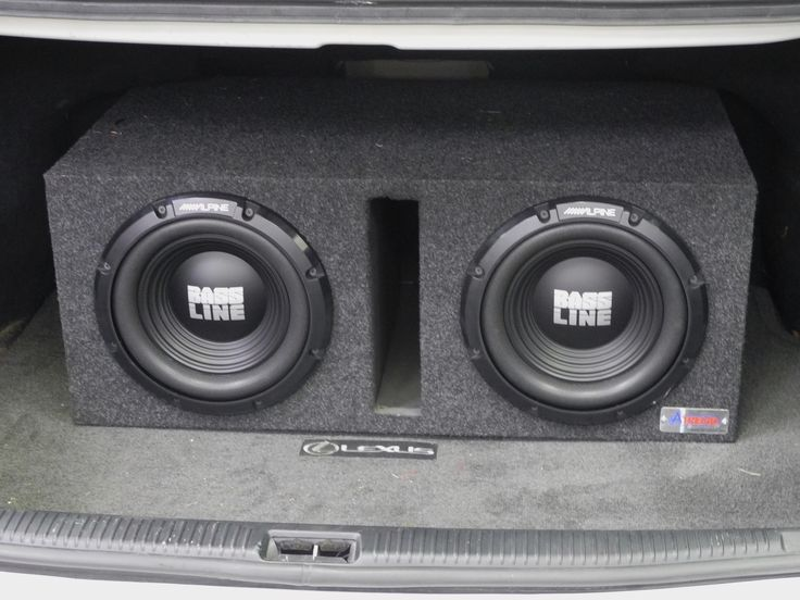Most people probably think of the Lexus ES 330 as a pretty conservative luxury car that isn't your typical candidate to shake the neighborhood with thundering bass. Well this one might challenge your assumptions, because our West Carrollton store just finished adding this killer 500 watt bass package consisting of a pair of 250 watt Alpine BASSLINE subwoofers loaded into an Atrend ported enclosure and powered by a 500 watt Alpine MRV amp and Audio Control LC2i 2-channel processor!
