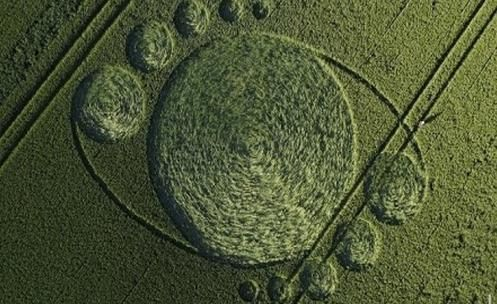 Netherlands - Crop Circle appears in the Fields of Zevenbergen
