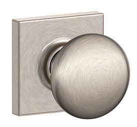 SCH-PLYMOUTHXCOLLINS | Schlage Plymouth Door Knob Set with Collins Trim | thehardwarehut.com