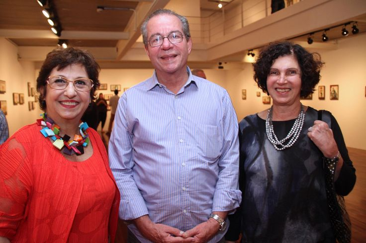 Vilma Eid, Jose Anibal e Edna Pontes