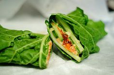 Swiss Chard Wrap  This Is What I Eat: Crazy Sexy Diet Cleanse: Day 3
