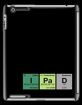"""iPad - periodic elements scramble!"" iPad Cases by dennis william gaylor"