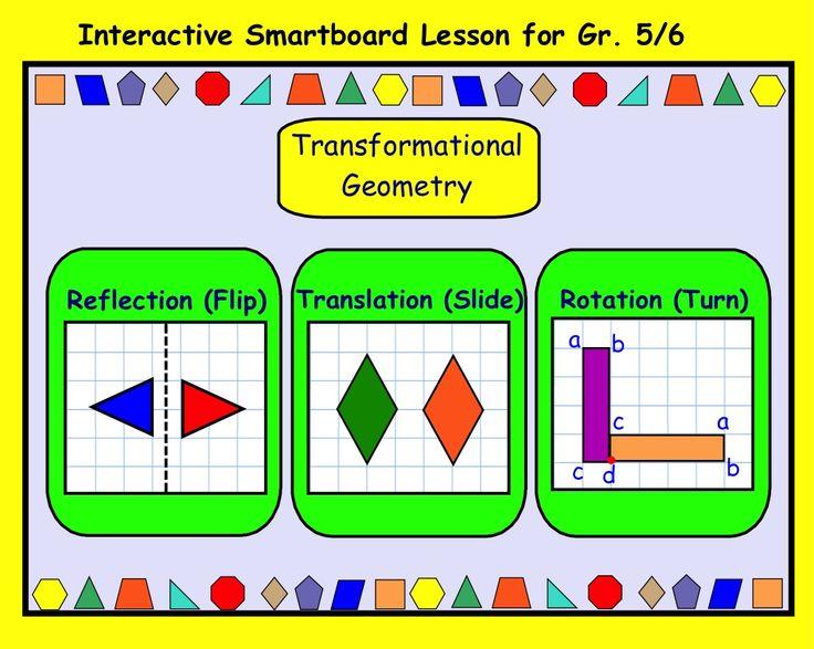 Grade 5 math transformational geometry worksheets