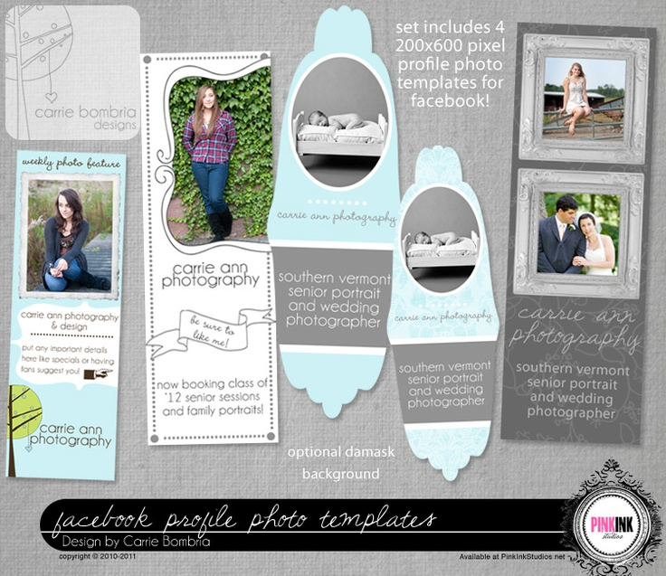 Facebook Profile Templates Marketing Pinterest Photos - profile templates